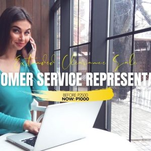 Customer Service Representative Course-Jan2021