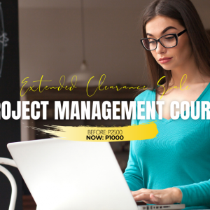 Project Management Course-Jan2021