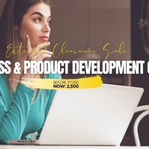 Business and Product Development Course-Jan2021
