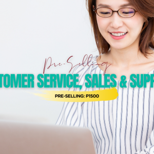 Customer Service, Sales and Support Course-Jan2021